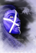 "Illustration pour campagne ""Aye Scotland"""