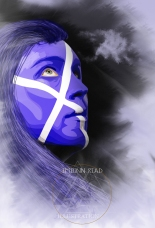 "Illustration pour campagne ""Aye Scotland"""