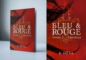 Bleu & Rouge de K.Héva - Edition TheBookEdition