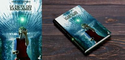 Le monde de Naëlle, tome 3: Le pacte des sans-âmes de Josephine Sanfond - Editions Poivrot