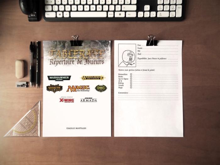 fiches inscription mise en page