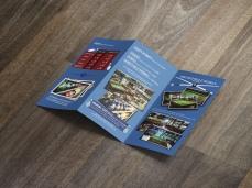 Leaflet Bowling Montpellier (mockups-design.com)