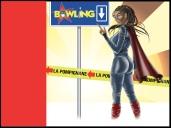Affiche Bowling de montpellier