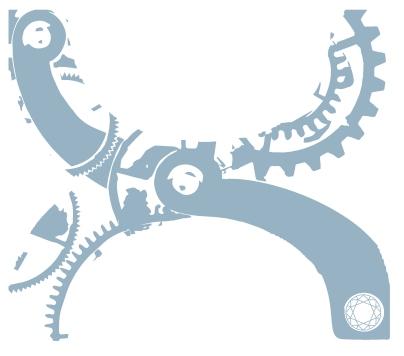 logo X bleu